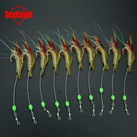 Wholesale 9 CM g Luminous Soft Lures ISCA Artificial Shrimp Lures Hooks Wlures Soft Baits Soft Fishing Lures Fishing Baits
