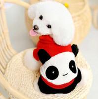 Оптово-Новая одежда Панда собака питомец собака одежда VIP Тедди модели Taobao взрыва осенью и зимой одежда