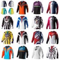 Wholesale Brand New Men Motorcycle Motocross Racing DH Downhill MX MTB Free T shirt Jersey Jerseys Cycling Wear XS XXXXL