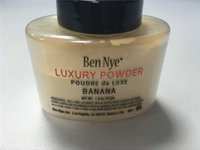 Wholesale Ben Nye Luxury Powder g New Natural Face Loose Powder Waterproof Nutritious Banana Brighten Long lasting hot selling