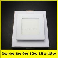 Wholesale 20PCS DHL High power Led Panel Light SMD2835 W W W W W W W v Led Ceiling Bulb lamp spotlight downlight