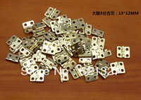 Wholesale Packaging Hardware hinge wooden small flat copper hinge special small