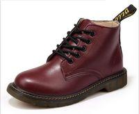 dr martens boots - New arrival Dr Genuine leather martin boots vintage martin shoes men women Motorcycle boots martens brand designer