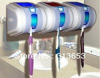 Wholesale new arrival solar UV toothbrush Sanitizer toothbrush stand Cleaner Bathroom Box FAMILY