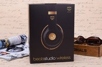 Wholesale High Quality Used MCM Beats studio Wireless Headphones Noise Cancel Bluetooth Headphones Headset with seal retail box