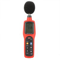 Wholesale UNI T UT351 Digital Sound Level Meter dB Decibel Meter Noise Tester Measuring dB with LCD Backlight order lt no track