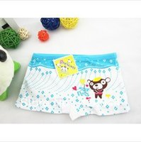 bear underwear - Children s cotton boxer briefs cute teddy bear baby cartoon underwear cotton underwear
