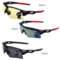 Wholesale 2pcs Outdoor Safety Goggles Protective Spectacles Cycling Skiing Skating Sunglasses Eye Protector GS003