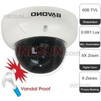 Wholesale BAVONO High Resolution Wide Dynamic Range Dome Camera X Digital Zoom and Zones Privacy Masking Function
