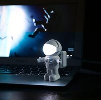 Wholesale Top quality New USB Night Light Creative astronaut LED nightlight Space Astronaut USB Night Light led night light lamp