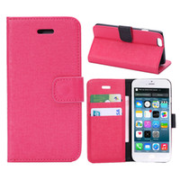 apple oracle - Hot sale oracle texture PU PC Cloth Slim Fit Credit Card Slots wallet Flip Cover Kickstand Foldable case For iphone s