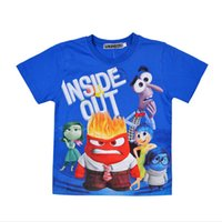 best fight shorts - Inside Out T shirt boys Summer Cotton Short Sleeve T shirts clothes children Mind Big Fight Boys Girls Baby Clothing Y best