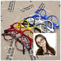 big nerd - New Unisex Fashion Round Frame Party Fancy Dress Big Nerd Eyeglasses Glasses