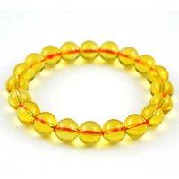 Cheap Boutique AA grade natural citrine gem bracelet bracelets for women men jewelry beads 6-12mm yellow crystal bracelets 0284