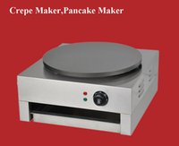 crepes machine - Stainless Steel Electric Crepe Pancake Scones Naan Bread Maker Machine