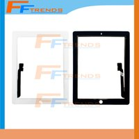 apple ipad oem - High Quality OEM Touch Screen Glass Panel with Digitizer for iPad Black and White DHL Shipping