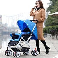 Wholesale Prams and pushchairs baby stroller carriage strollers High Landscape LEOBEI lightweight portable pram Pushchair Jogger By