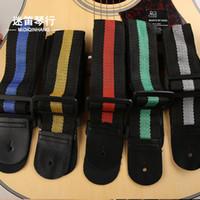 Wholesale Electric wooden folk guitar strap color strap Guitar Accessories WG267