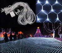 decorative mesh - 200 LED Net Mesh string Light Decorative Fairy Lights Holiday Christmas Twinkle Lighting Christmas Wedding Party EU