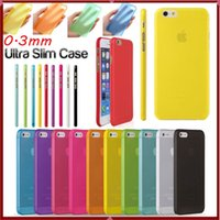 pp plastic case - 0 mm Ultra Thin Slim Matte Frosted Transparent Clear Soft PP Cover Case Skin for iPhone S Plus iPhone S S7 S6 Edge Plus Note p