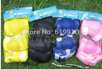 Wholesale Kick Scooters and Sports protective clothing skating protective gear scooter skates flanchard piece set mines flanchard