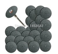 Wholesale 25pc Fiberglass Reinforced Cut Off Wheel Disc w Mandrel quot Fit Dremel Tool A3