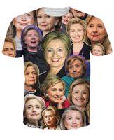 Cheap Hillary Clinton Paparazzi T-Shirt Women Men 3d Hillary's time t shirt Sport Tops Outfits Tees Summer Style Casual tshirts