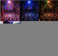led light ball - D19 W Mini RGB LED Stage Light Crystal Magic Ball Effect Lighting DJ Club Disco Party Show Light US plug