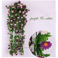 Wholesale home wedding garden decoration Decorative vine silk plant Flowers CM branches vine artificial flower a