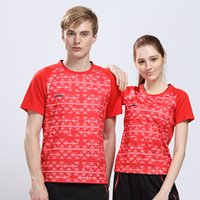 badminton china open - Li Ning New All England Open Badminton Tournament China Shirt Men Professional Badminton Quick Dry Shirt AAYL009 AAYL014