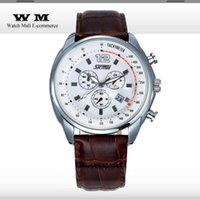 Wholesale Skmei Brand Men Genuine Leather Strap Quartz Watches Casual Sports Calendar Relogios Analog Wristwatch