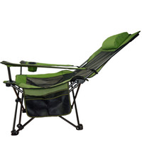 Wholesale outdoor portable travelling folding chair sleep office metal for the garden high quality kd cots camp army Camping Family car camping