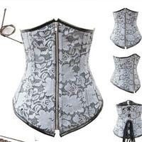 Cheap Wholesale-plus size waist trainer 2015 women Steel Boned Corset shapewear body adelgazante waist training corset gaine cinta emagrecedora