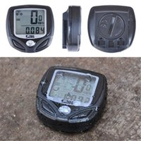 Wholesale Hoy Sale New Sunding Sd c Multifunction Wireless Bicycle Stopwatch Odometer Speedometer Bike Cyclometers Waterproof Cycle Computer