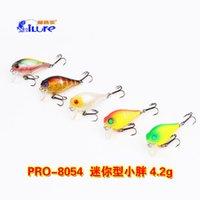 Wholesale Weihai love fishing bait road sub Mini cm g VMC hook xiaopang hard bait bait fishing