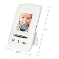 Wholesale 2015 inch wireless video baby monitor Night vision Lullabies Intercom eletronica radio babysitter bebe monitor
