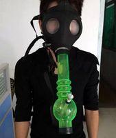 Cheap Gas Mask Water Pipes - Sealed Acrylic Hookah Pipe - Vaporizer - Filter Smoking Pipe 0002b