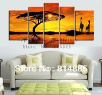 beautiful pictures world - 170 cm Width From Artist Directly The Beautiful World Handmade Modern Landscape Oil Painting On Canvas JYJHS071