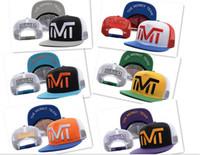 Wholesale 20pcs hot sale TMT CAP hat designs snapback hats the money team baseball caps Adjustable snapbacks hip hop hats men women D340