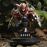 Wholesale Game LOL League of Legends Action Figure The Master of Shadows Zed Resin Action figure Figure Kids Toys Gift