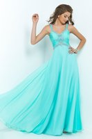 Wholesale 2015 New Prom Dresses Sexy Spaghetti Straps Beaded Sequins A line Party Dress Criss Cross Straps Back Pageant Dresses Prom Gowns Custom Made