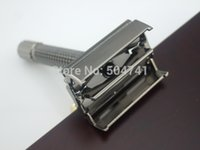 Wholesale Safety Razor WEISHI Copper alloy Pearl black C Top quality Simple packing NEW