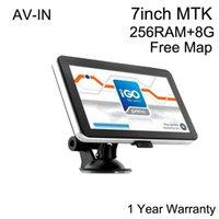toyota car gps navigation - Car GPS Navigator inch Navigation Bluetooth AV in MTK HD Touch Screen GB Free Maps Europe North America USA Canada Australia