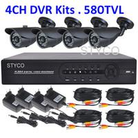 surveillance camera system - Home CCTV Surveillance camera system DVR kit CH H DVR TVL Day Night IR waterproof Security Bullet Camera CCTV Systems