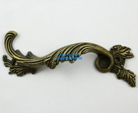antique drawer pulls - 20 Pieces Antique Brass Furniture Handle Cabinet Knob Jewelry Box Handle Knob Drawer Pull mm