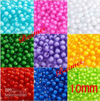 Wholesale 1000Pcs MM Acrylic The Earth Beach Colorful Loose Beads