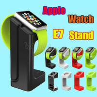 Wholesale 2015 New Charging Stand Holder Dock Station Cord Holder Keeper for Apple Watch iWatch mm mm All Edition with retail package cheap
