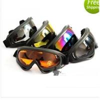 Wholesale New Arrival In stock X400 ski glasses cycling goggles PC UVA UVB protection ANSI Z87 strandard