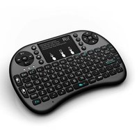 Wholesale Original Rii Air Mouse Wireless Handheld Keyboard Mini I8 GHz Touchpad Remote Control For RT MWK08 M8 TV BOX Game Play Tablet Mini PC