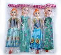 statues - Frozen Brinquedos dolls PC Toys Princess Anna and Elsa Doll Joint Moveable Birthday Chrismas Kids toys for Girls Children Frozen Elsa Anna